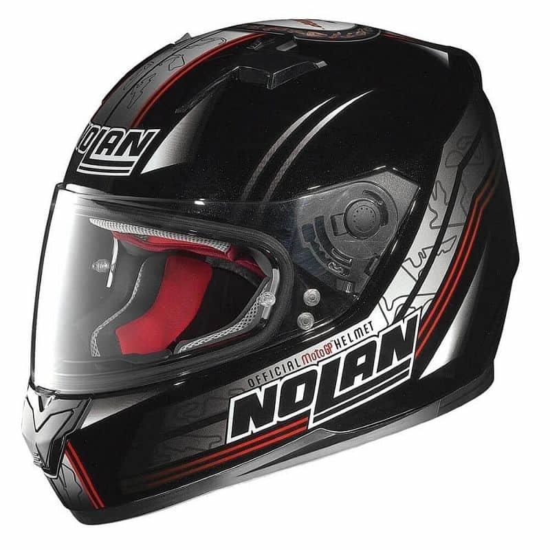 Černá helma na motorku Nolan - velikost 61-62 cm