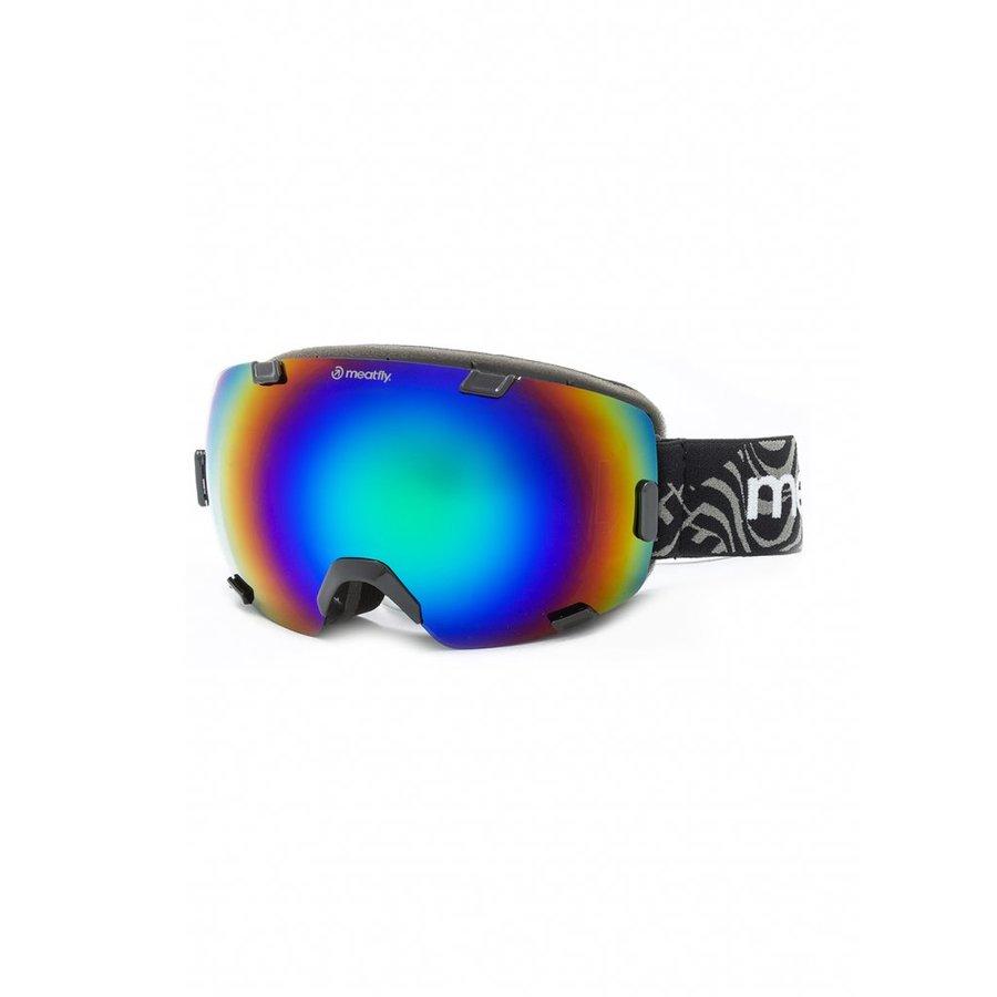 Brýle na snowboard - Meatfly Scout 4 Goggles A - Black Velikost: JEDNOTNÁ VELIKOST