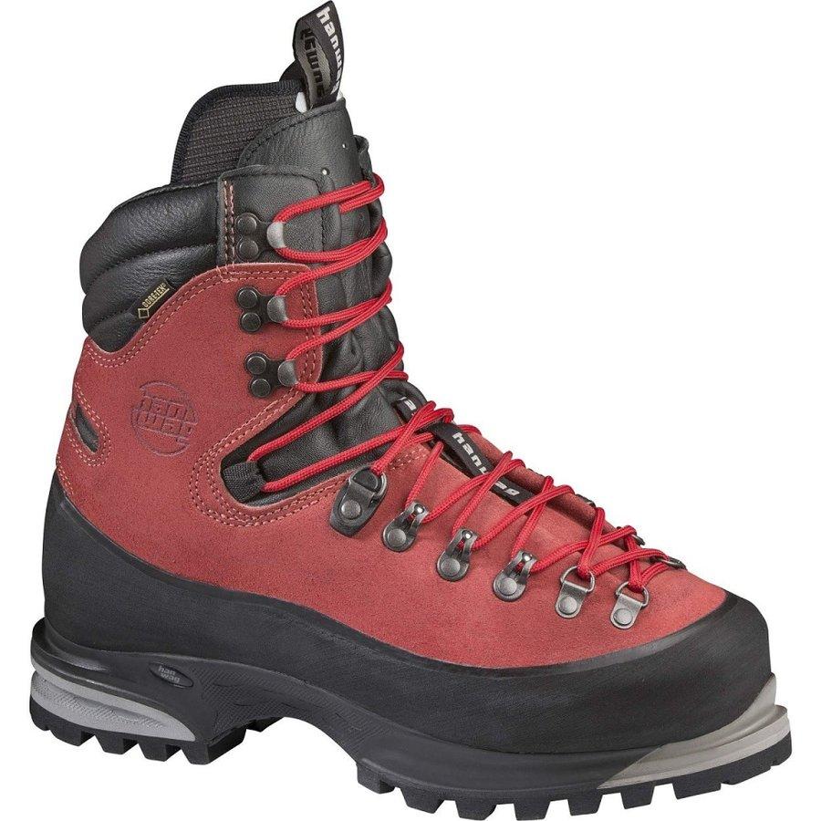Černo-červené pánské horolezecké boty Hanwag