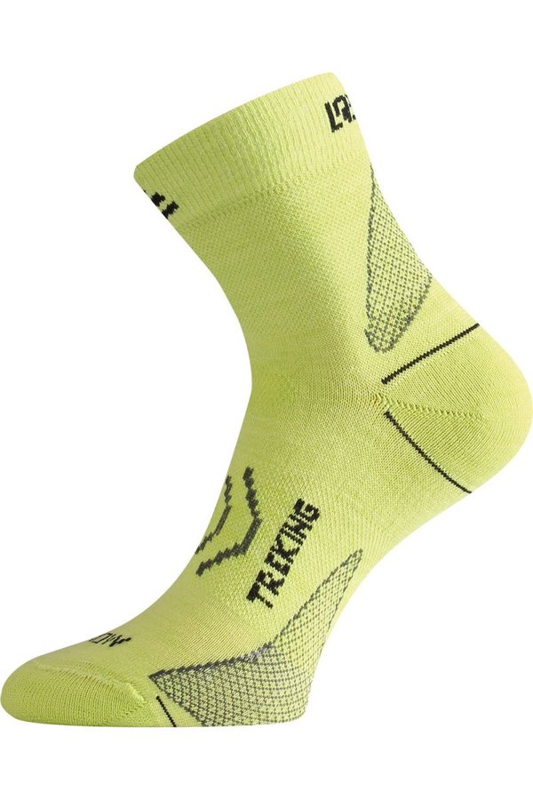 Zelené pánské trekové ponožky Lasting