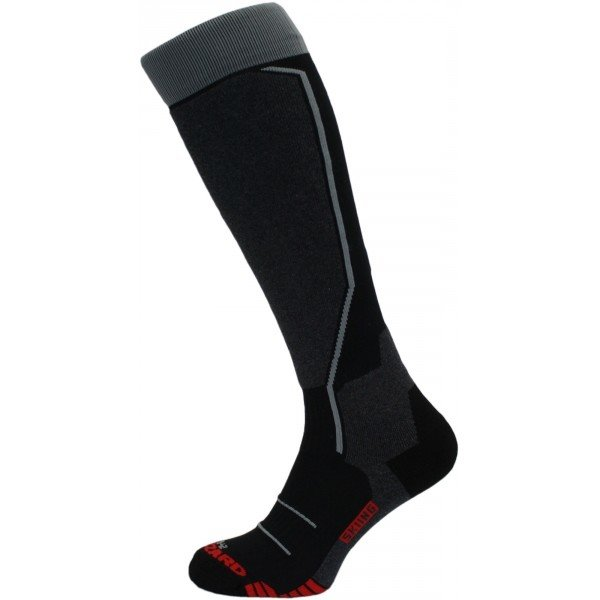 Černo-šedé lyžařské ponožky Blizzard