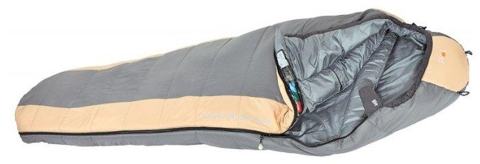 Šedý spací pytel Rock Empire - délka 220 cm