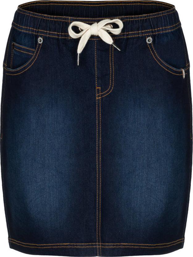 Modrá dámská sukně Loap - velikost XL