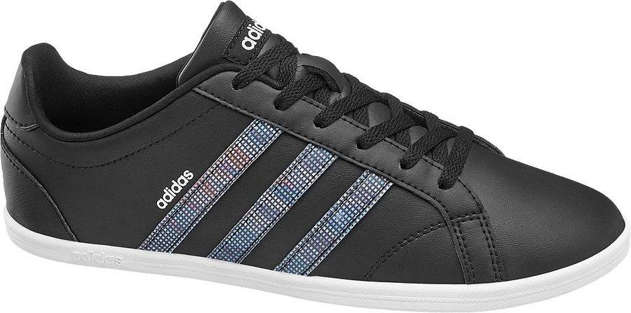Černé dámské tenisky Adidas - velikost 37 1/3 EU