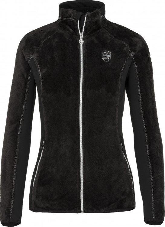 Černá dámská lyžařská mikina bez kapuce Kilpi