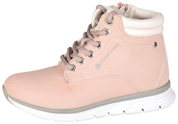 Růžové dívčí zimní boty Alpine Pro - velikost 32 EU