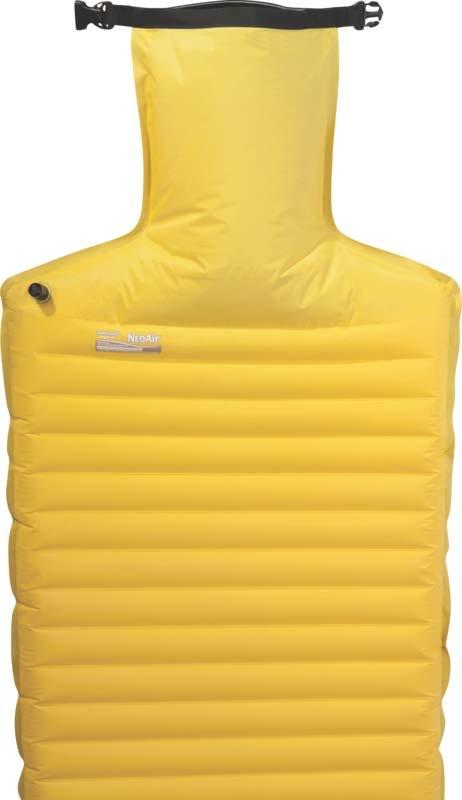 Žlutá nafukovací karimatka Therm A Rest - tloušťka 6,3 cm