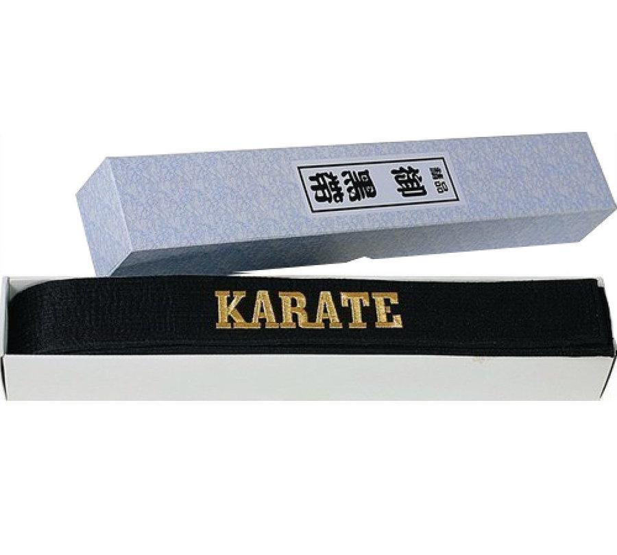 Černý karate pásek Hayashi