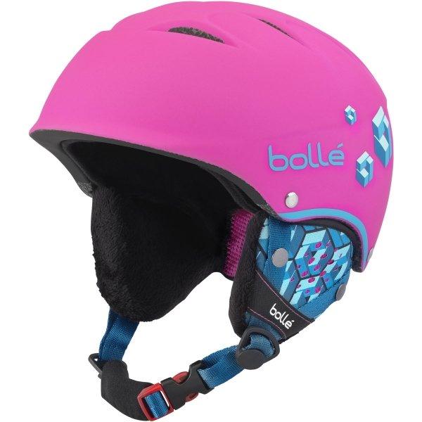 Růžová dámská lyžařská helma Bollé - velikost 53-57 cm