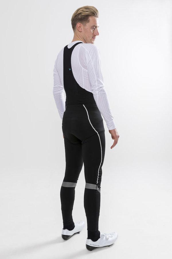 Dlouhé dámské cyklistické kalhoty se šlemi s vložkou Craft - velikost XL