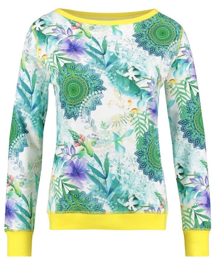 Svetr - Home zelený dámský domácí svetr Hip Viridi Sweater - XS