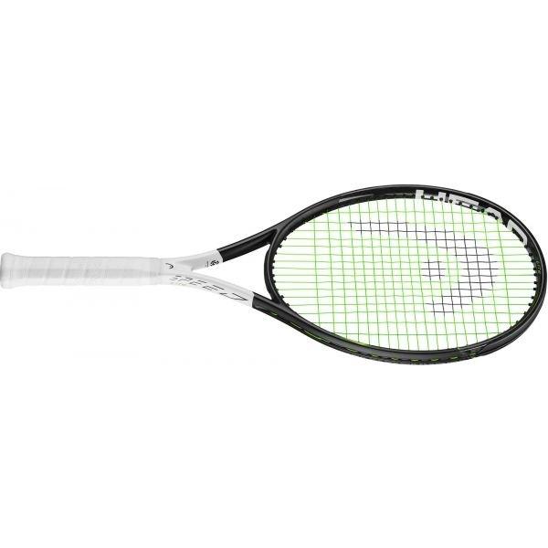 Bílo-černá tenisová raketa Head