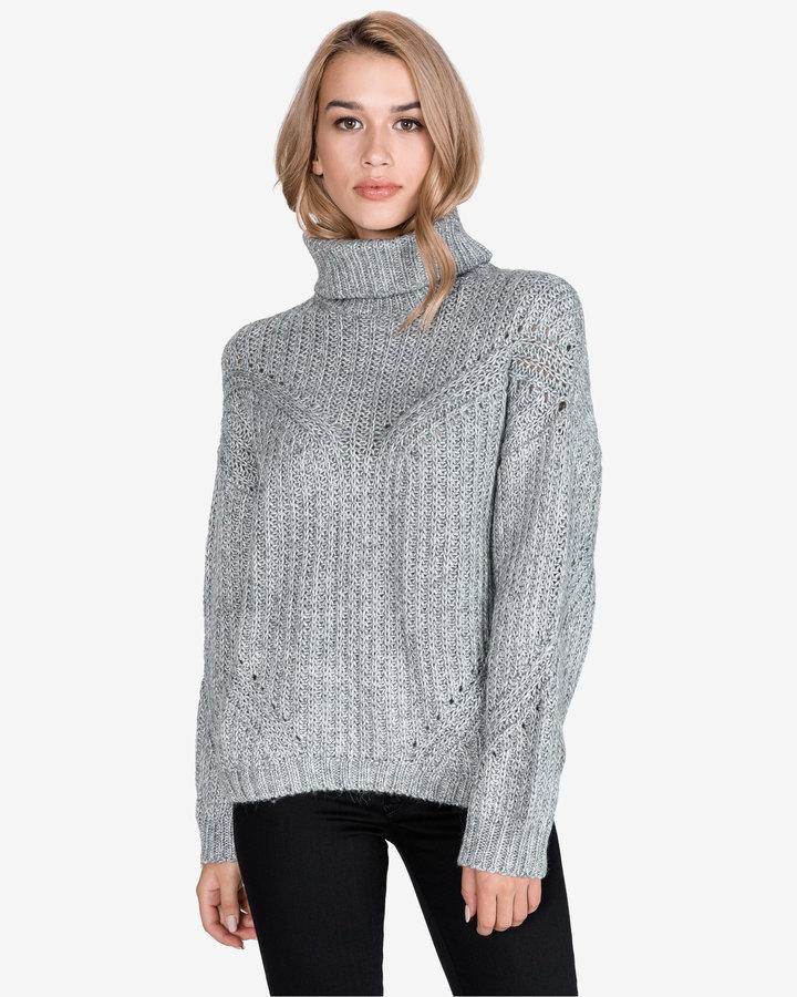 Šedý dámský svetr Pepe Jeans - velikost M