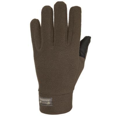 Hnědé lovecké rukavice Solognac