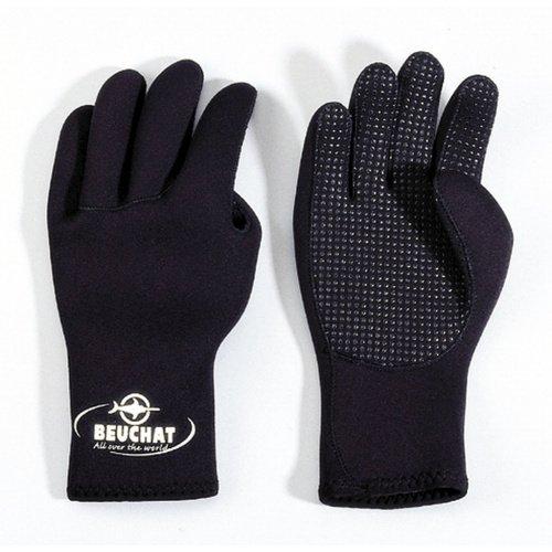 Černé neoprenové rukavice Standard, Beuchat - velikost M