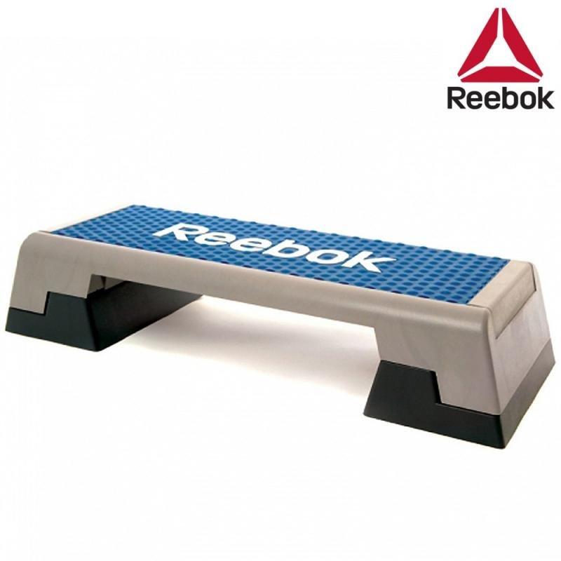 Modro-šedý aerobic step Reebok