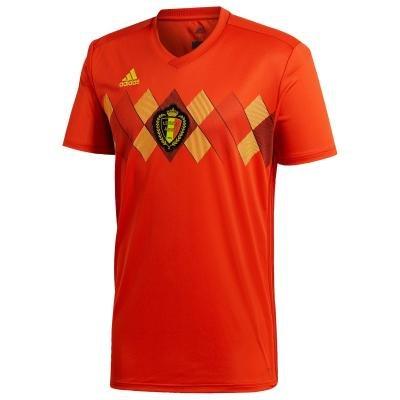 """Červený dětský fotbalový dres """"Belgická reprezentace"""", Adidas"""