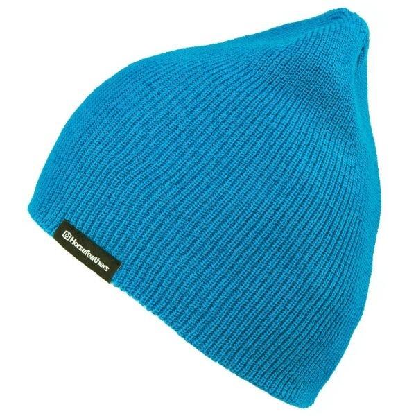 Modrá pánská zimní čepice Horsefeathers