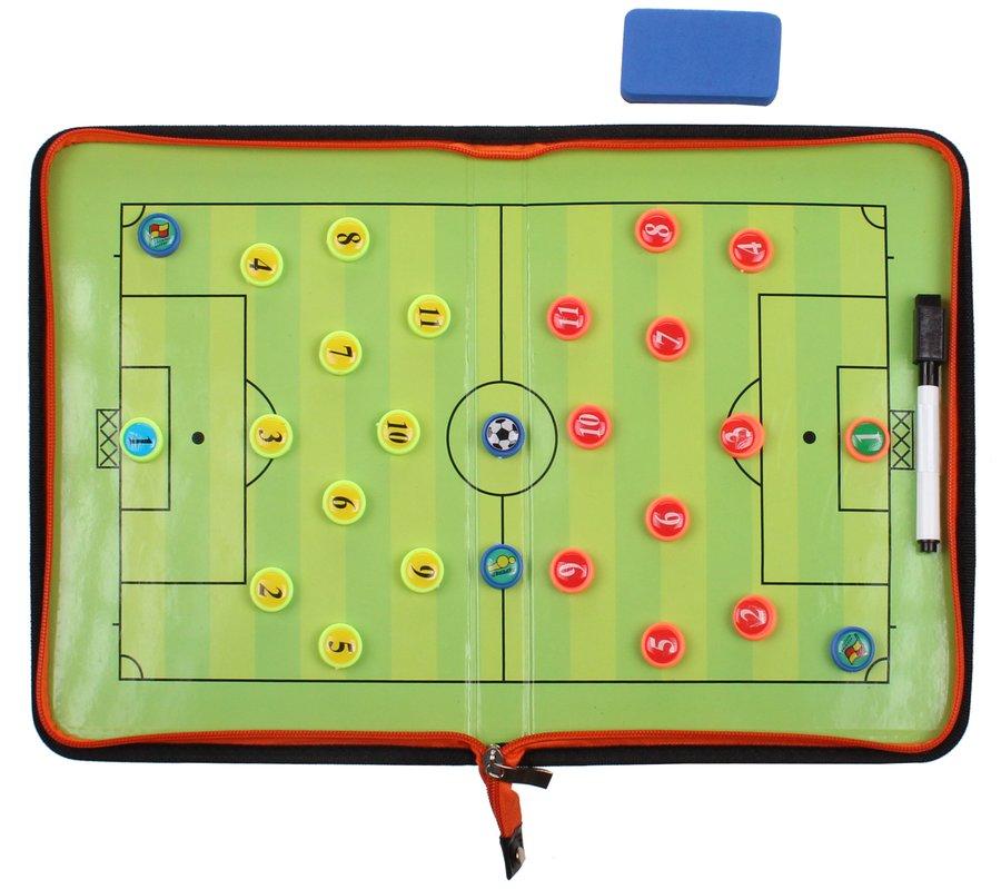 Fotbalová trenérská tabule - Merco Fotbal 58 magnetická trenérská tabule, se zipem