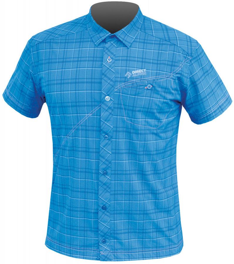 Modrá pánská košile s krátkým rukávem Direct Alpine - velikost S