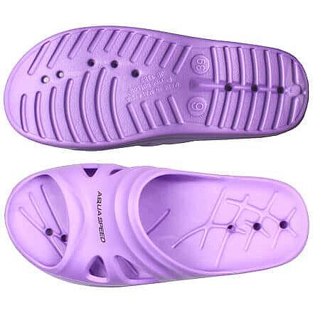 Fialové dámské pantofle Aqua-Speed - velikost 38 EU