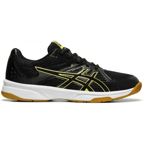 Černé pánské boty na volejbal Asics