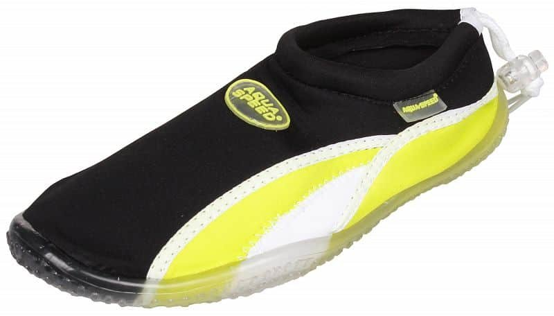 Černo-zelené boty do vody Jadran 12, Aqua-Speed - velikost 45 EU