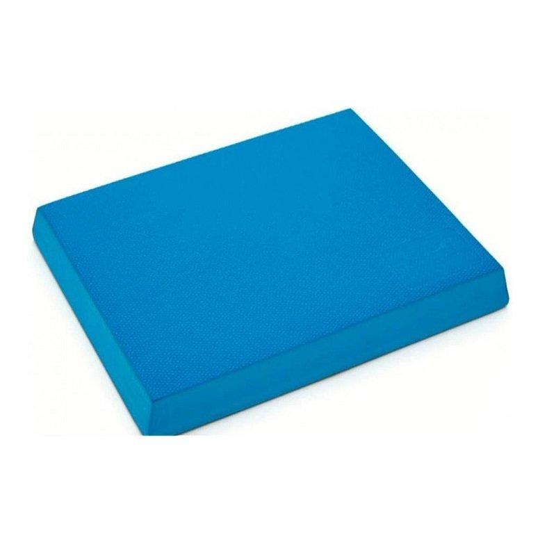 Modrý jóga blok Spartan - délka 48 cm, šířka 38 cm a výška 5,8 cm