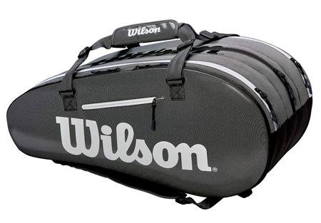 Tenisová taška - Wilson Super Tour 3 COMP 2019 Black/Grey
