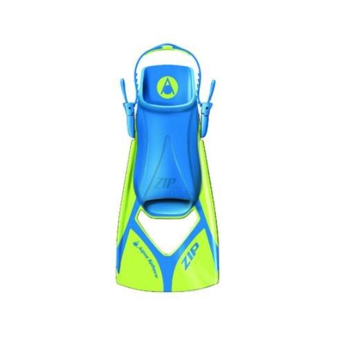 Zelené plavecké krátké ploutve Zip Fin VX, Aqua Sphere - velikost L