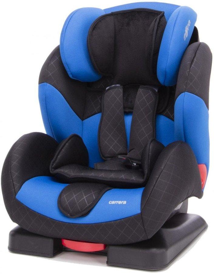 Modrá dětská autosedačka Carrera, ZOPA - nosnost 36 kg