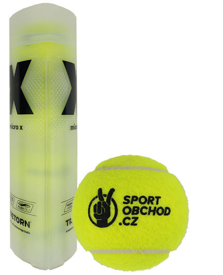Tenisový míček Micro X, Tretorn - 4 ks