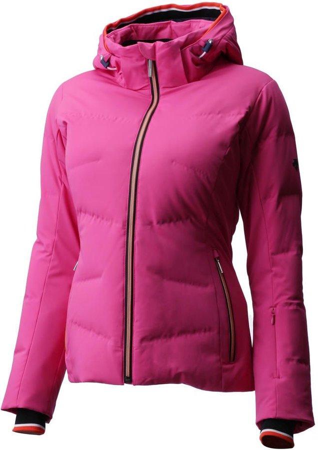 Růžová dámská lyžařská bunda Descente - velikost 36