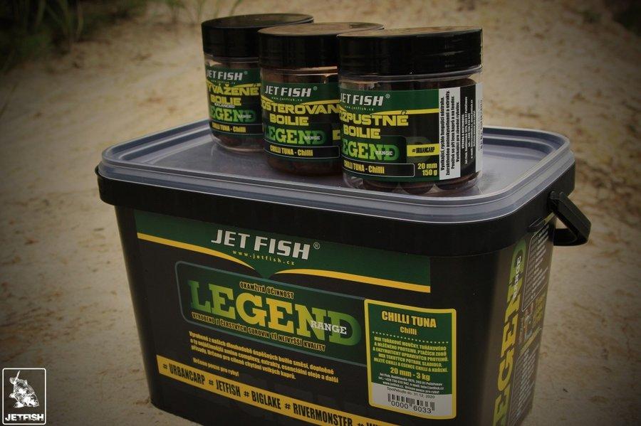 Boilies Jet Fish - 2,7 kg a průměr 16 mm