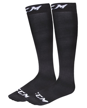 Černé unisex hokejové ponožky LINER Series, 40s & Shorties - velikost S