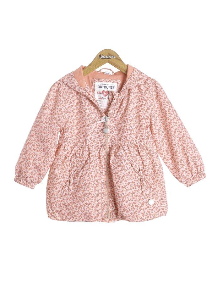 Růžová dívčí bunda Nickel - velikost 74