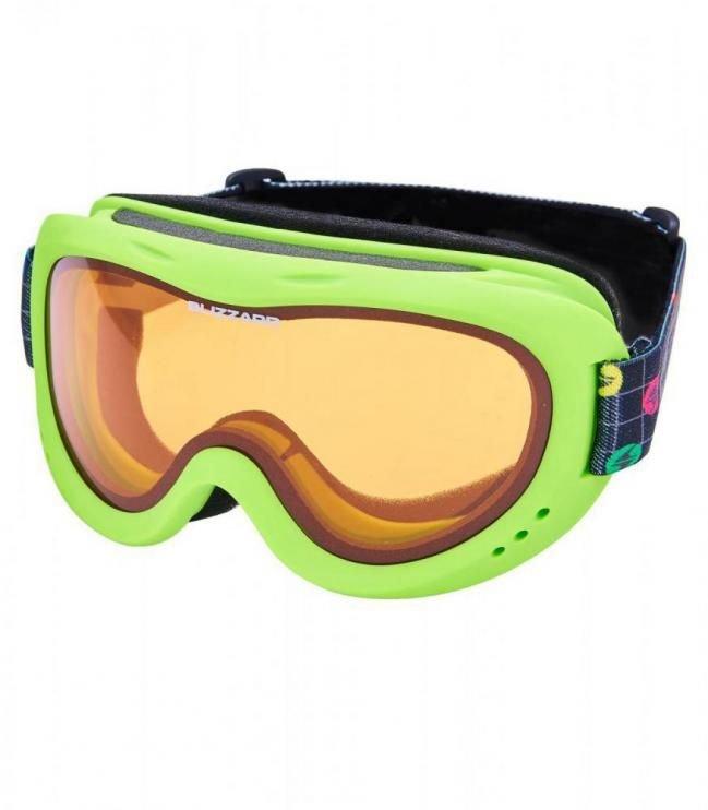 Zelené lyžařské brýle Blizzard