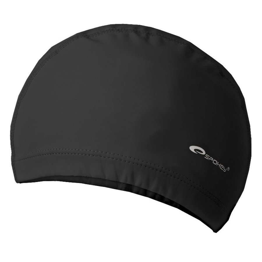 Černá pánská nebo dámská plavecká čepice Torpedo, Spokey