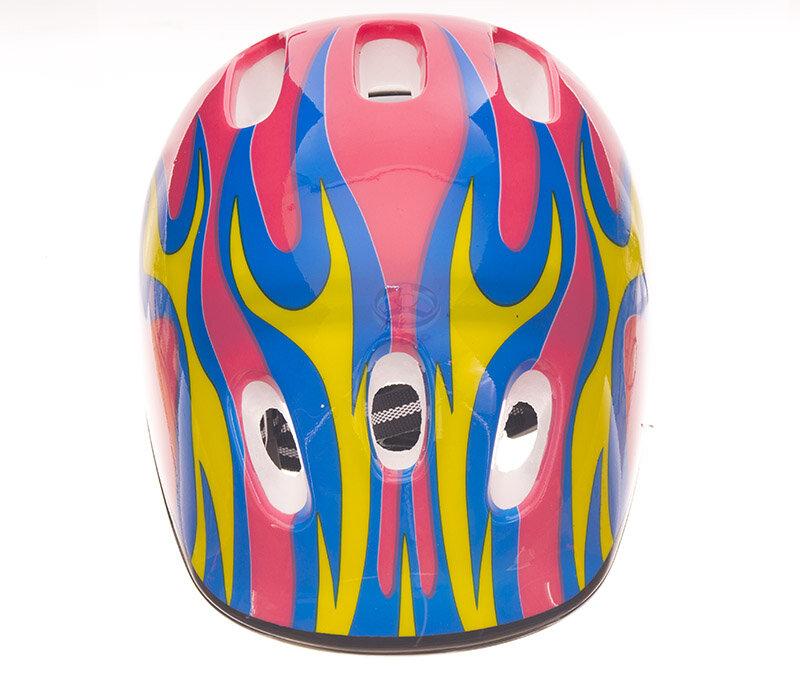 Růžová dětská cyklistická helma SKITT