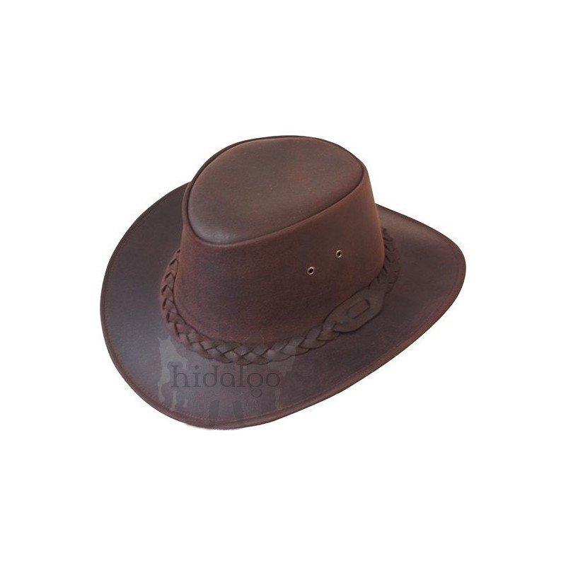 Hnědý jezdecký klobouk Jac Aroo - velikost L
