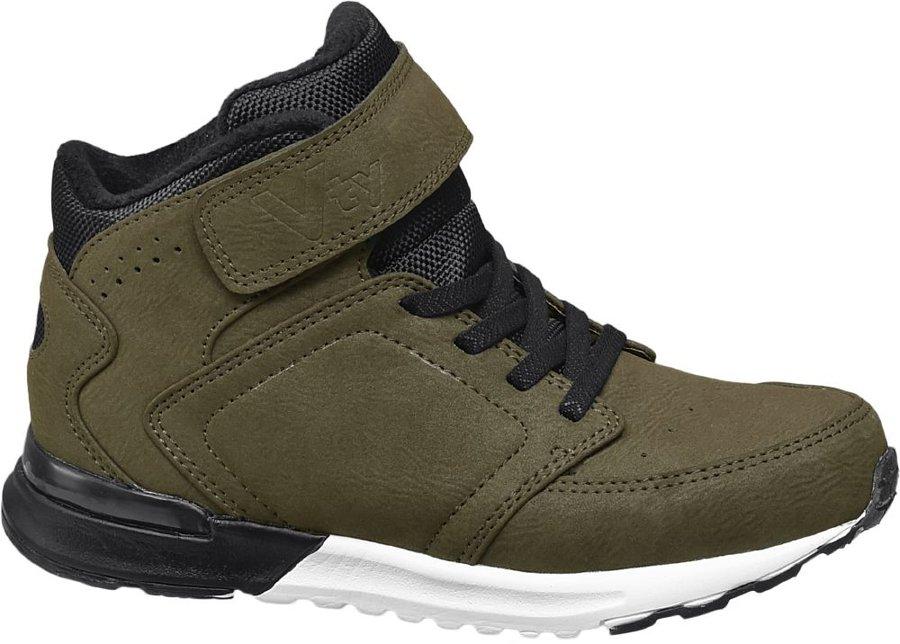 Khaki zimní boty Vty - velikost 34 EU
