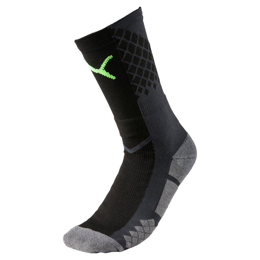 Černé fotbalové ponožky  It Evotrg Socks, Puma - velikost 47-50 EU