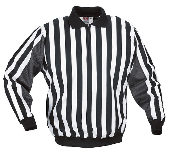 Bílo-černý hokejový dres pro rozhodčího CCM