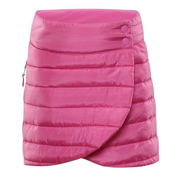 Růžová zimní dívčí sukně Alpine Pro - velikost 116-122