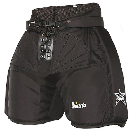 Černé brankářské hokejové kalhoty - senior Brian's - velikost XL