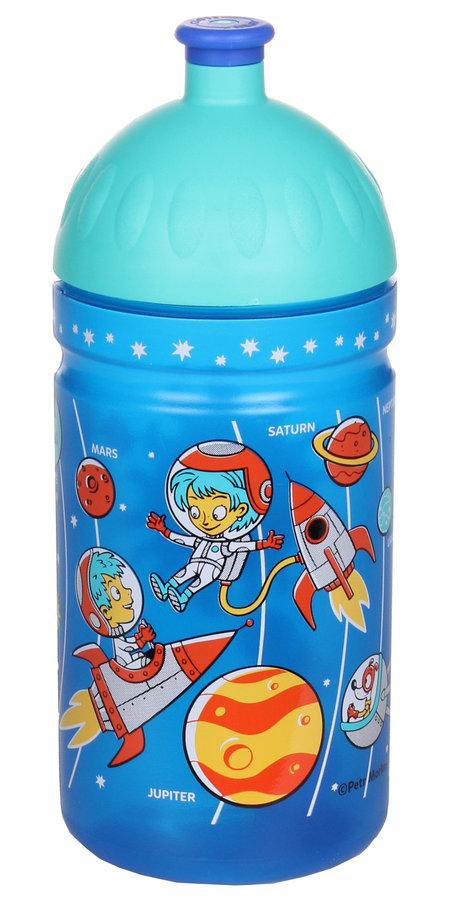 Modrá láhev na pití Zdravá lahev, R&B - objem 0,5 l