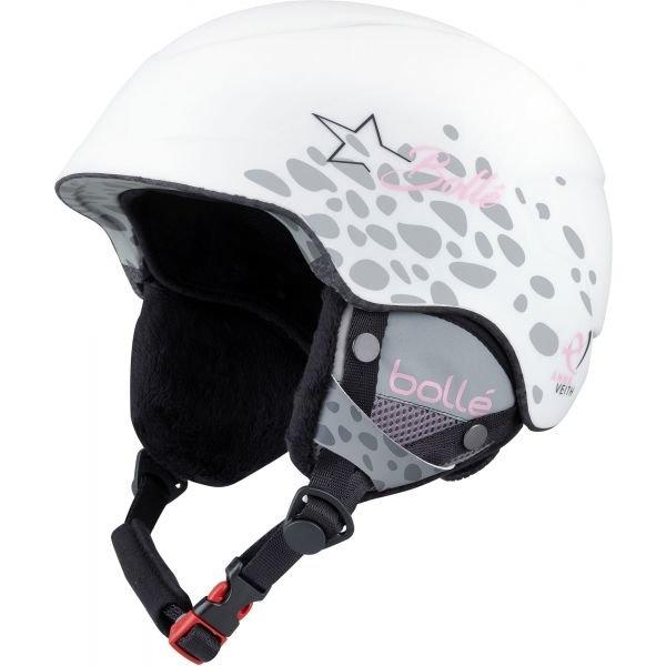 Bílá dětská lyžařská helma Bollé - velikost 53-57 cm