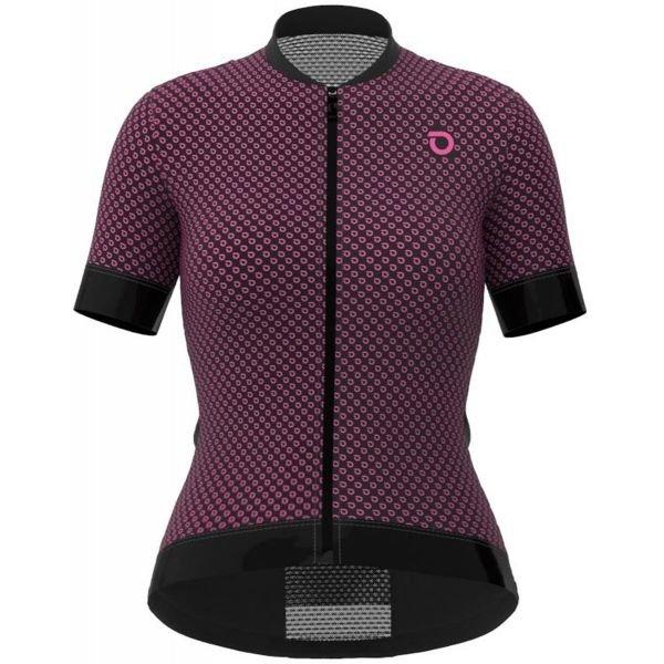 Fialový dámský cyklistický dres Briko