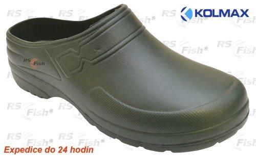 Khaki pánské pantofle KOLMAX