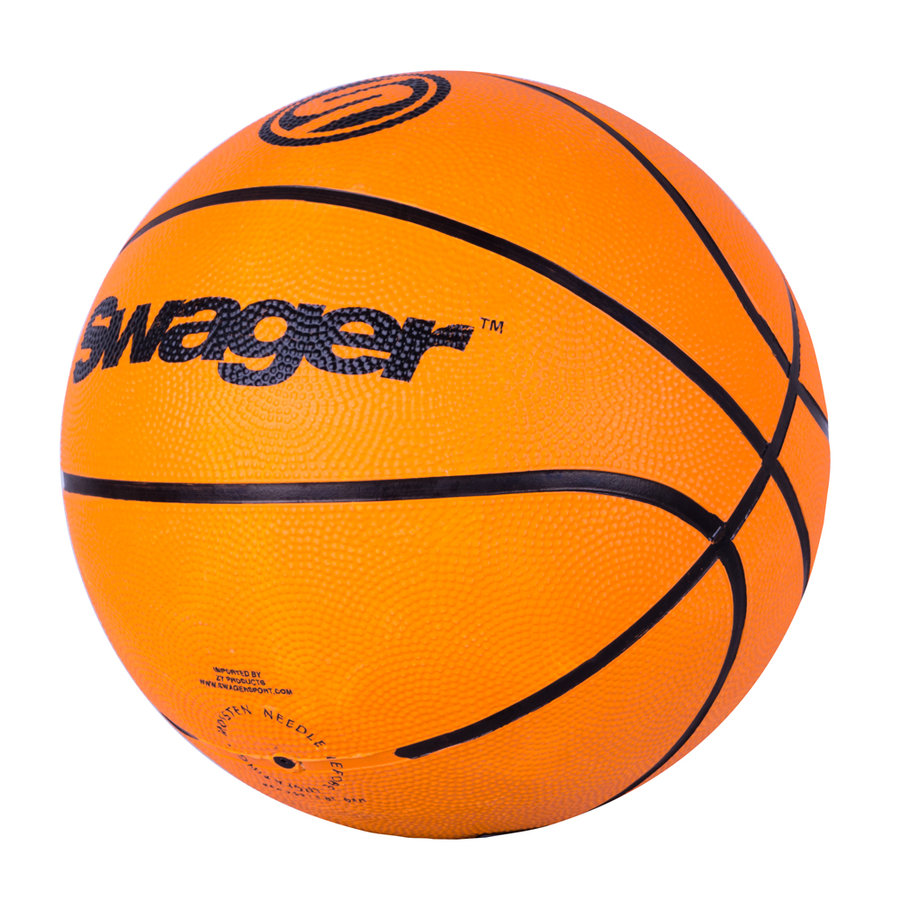 Oranžový basketbalový míč Jordy, inSPORTline - velikost 7